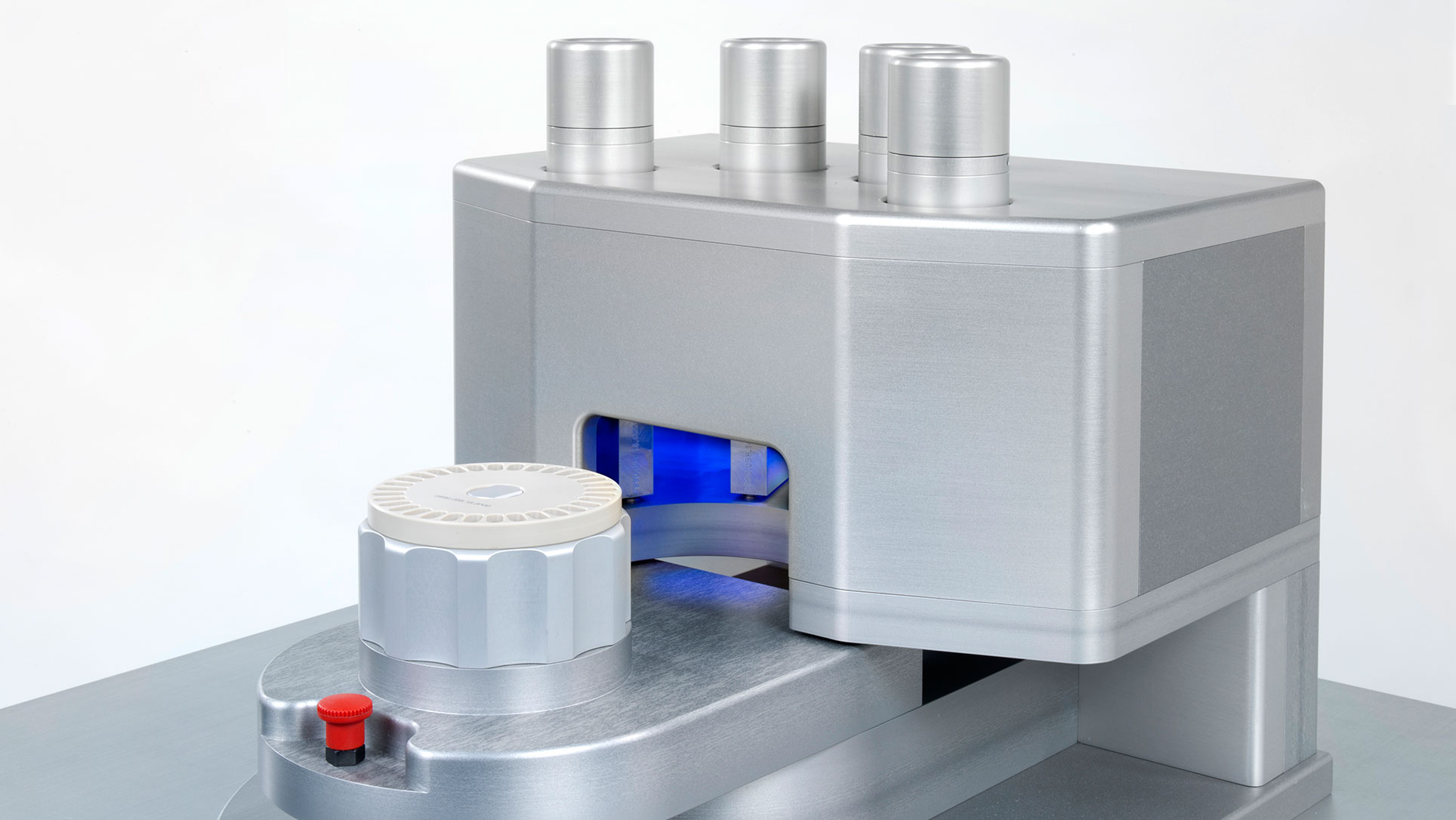Single Disc Dispenser ~ Harro höfliger gentle handling of cryo pellets