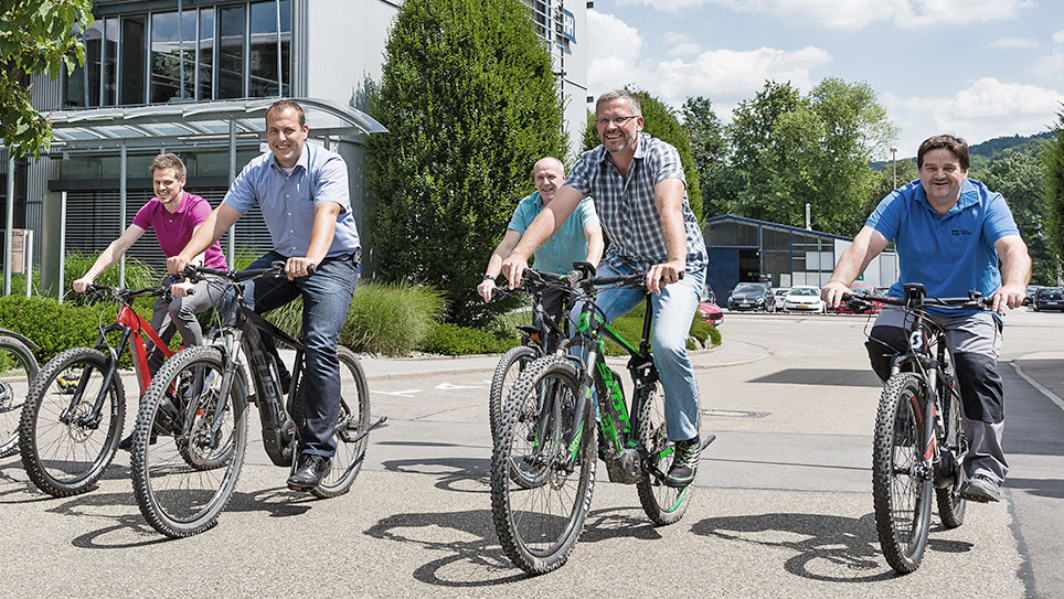 Leasing of bikes at attractive rates