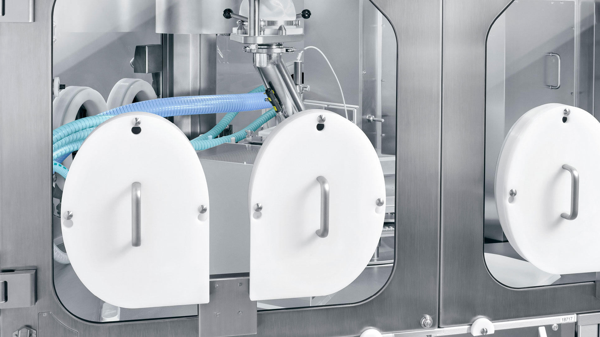 Capsule filling machines Modu-C MS – ergonomics despite containment