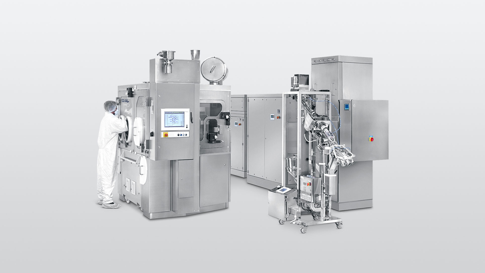 Capsule filling machines Modu-C MS with MABS Containment