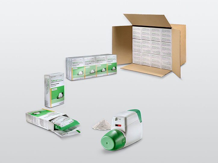 DPI Inhaler Folding Boxes Final Packaging Shipping Box Packaging Packing